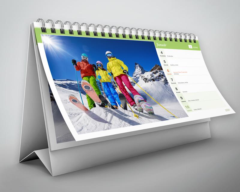 Stolový kalendár - týždenný (2021)