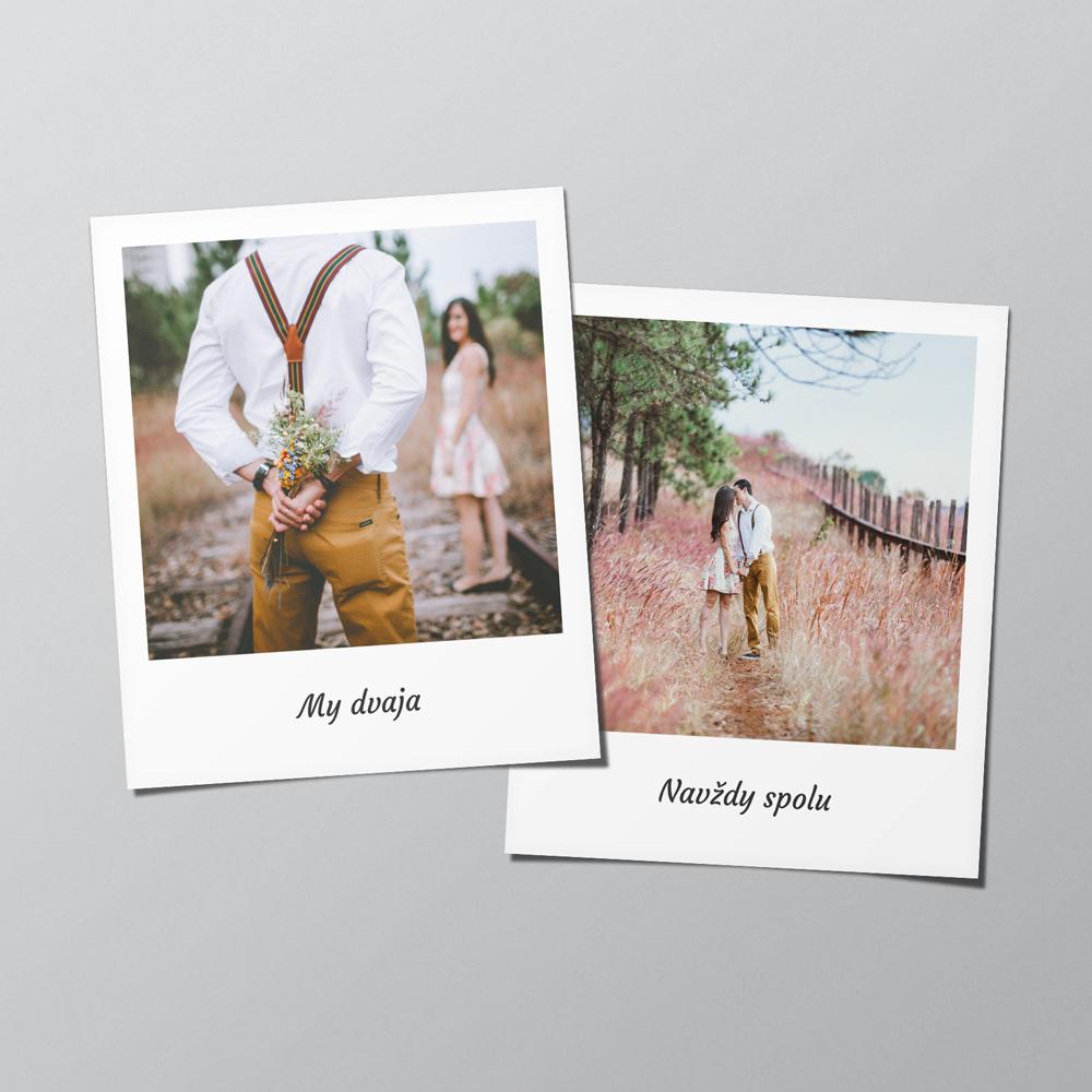 Polaroid 8x9 cm