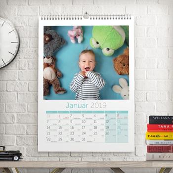 Veľký nástenný kalendár A3 (2020)