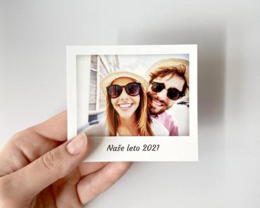 Polaroid 9x8 cm
